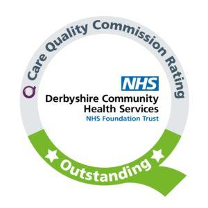 CQC Rating logo Derbyshire Community Health