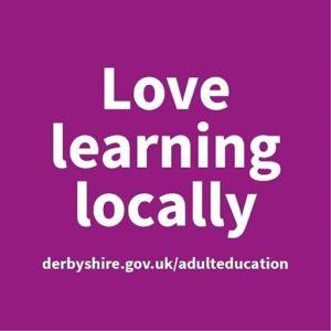 Derbyshire Adult Education logo